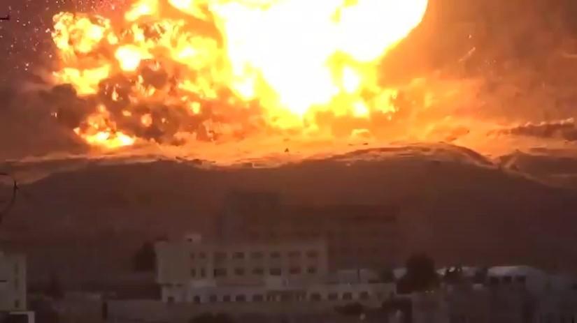 CONFIRMATION : Israël a largué, pour le compte des Saoudiens, une bombe nucléaire sur leYémen.