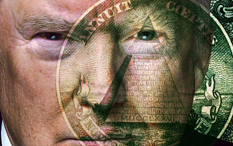 Donald Trump : Make The Illuminati Great Again!