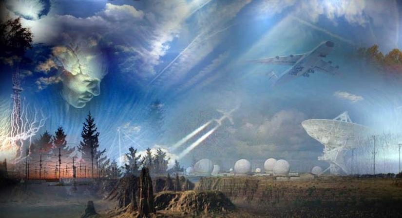 PROJET H.A.A.R.P. ET CHEMTRAILS :  Une TechnologieSecrète