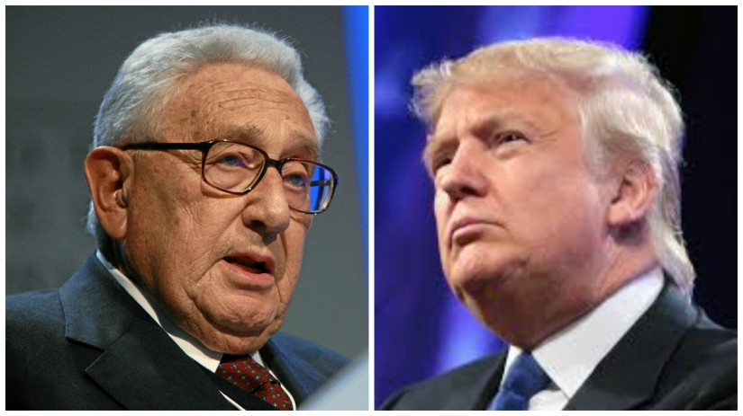 "Trump est-il le ""Back Door Man"" d'Henry A. Kissinger & Cie?"