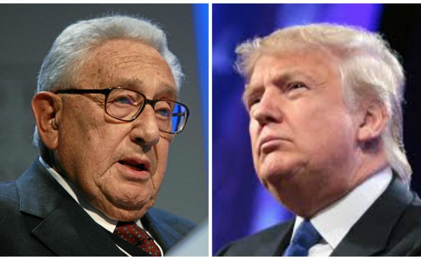 """Trump est-il le """"Back Door Man"""" d'Henry A. Kissinger &Cie?"""